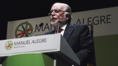 Campanha presidencial traz Manuel Alegre a Castro Verde e Beja