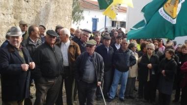 População de Alfundão manifestou-se contra fecho do posto médico
