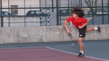 Tenista de Ferreira do Alentejo é líder do ranking nacional de sub-12