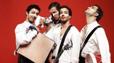 Rock e festa em Aljustrel e Beja com a música de Os Golpes