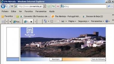 Câmara de Mértola apresenta novo sítio oficial na Internet