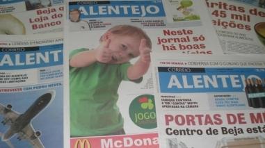 """""""Correio Alentejo"""" celebra cinco anos de existência"""