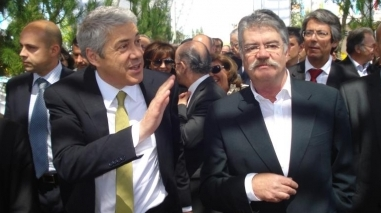 José Sócrates garante projecto de Alqueva apesar de acordo Portugal-FMI