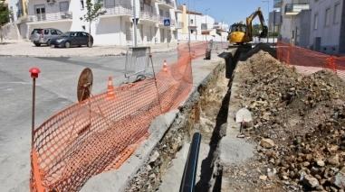 Remodelação da rede pública de distribuição de água de Beja avança