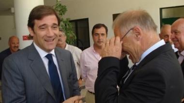 Passos Coelho defende em Milfontes aposta na agricultura e nas pescas
