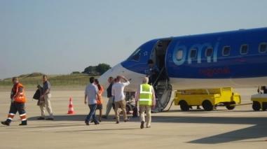 Aeroporto de Beja recebeu primeiro voo a partir de Londres