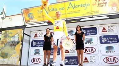 Lituano Evaldas Siskevicius vence 29ª edição da Volta ao Alentejo em bicicleta