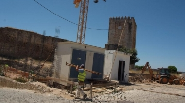 Obras do novo Posto de Turismo de Moura já arrancaram no castelo
