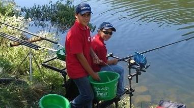 Jovens pescadores do Clube Amadores de Pesca do Baixo Alentejo vão ao mundial
