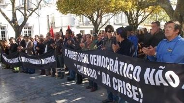 Beja: Autarcas e mais de mil trabalhadores contestaram política do Governo