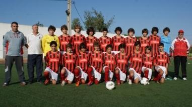 Iniciados do Despertar cumprem 16ª temporada consecutiva no campeonato nacional