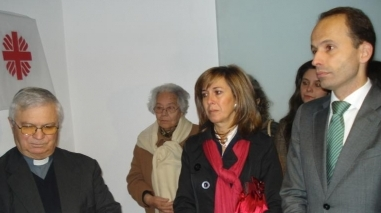 Ministro da Solidariedade e da Segurança Social inaugurou nova sede da Cáritas de Beja