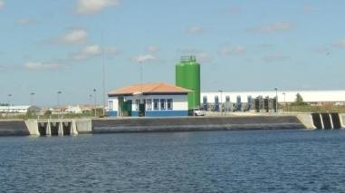 Centrais mini-hídricas do projecto do Alqueva com produção residual