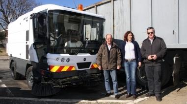 Câmara de Beja tem nova varredora mecânica para limpar ruas