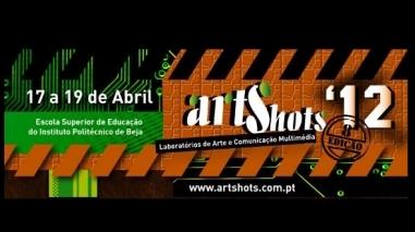 """IPBeja promove artes e comunicação multimédia no """" Artshots 2012"""""""