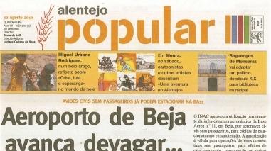 """Jornal """"Alentejo Popular"""" suspende temporariamente a sua edição em papel"""