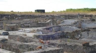 Ruínas romanas de Pisões (Beja) encerradas temporariamente