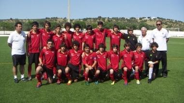 Selecção sub-14 de Beja participa no Torneio Lopes da Silva