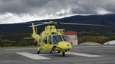 Helicóptero do INEM estacionado em Beja ou em Loulé de Julho a Setembro