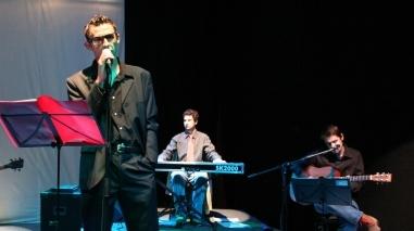 """Espectáculo de música e poesia """"Eroscópio"""" no palco do Espaço """"Os Infantes"""" (Beja)"""