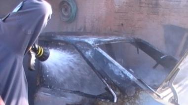 Incêndio destrói oficina de reparação de automóveis em Ourique