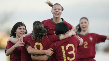 Atletas do Baixo Alentejo no estágio da Selecção Nacional feminina de sub-19