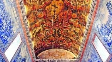 Obras de restauro de igreja em Beja desvendam pinturas murais escondidas