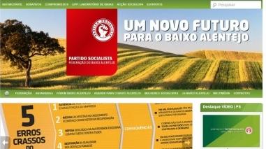 PS do Baixo Alentejo com novo site e imagem institucional renovada