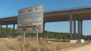 JS do Baixo Alentejo lança campanha contra paragem das obras da A26