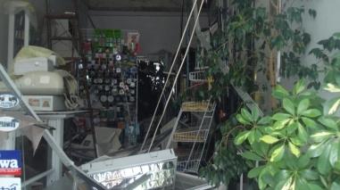 Tecto falso desaba em loja de artigos desportivos em Beja