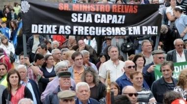 """Freguesias do distrito de Beja contestam """"liquidação"""" e exigem revogação da lei"""
