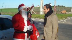 """Deputado do PSD """"recebeu"""" Pai Natal"""