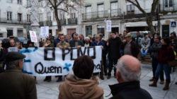 """Centenas contra a """"troika"""" em Beja"""