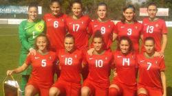 Ana Capeta estreou-se nas sub-19