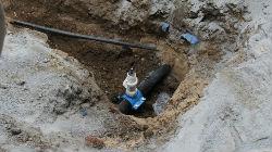 EMAS requalifica rede de água
