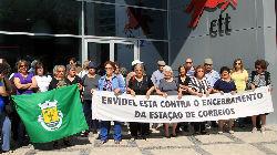 População de Ervidel protesta
