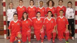 Equipa feminina de futsal do