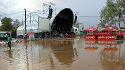 Chuva provocou uma dezena de