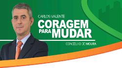 Candidato do PSD/ CDS critica