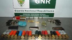 GNR detém suspeito