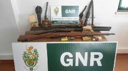 GNR apreende armas