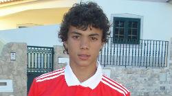 Diogo Gonçalves no estágio