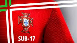 Sub-17 de Portugal vencem