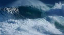 Mar destruiu parcialmente
