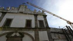 Igreja de Évora reparada após danos
