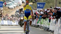 Contador vence etapa da