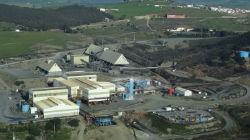Produção nas minas de