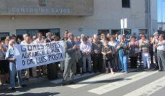 Protesto em Almodôvar contra