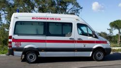 Nova ambulância para