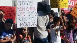 Protesto em Lisboa contra